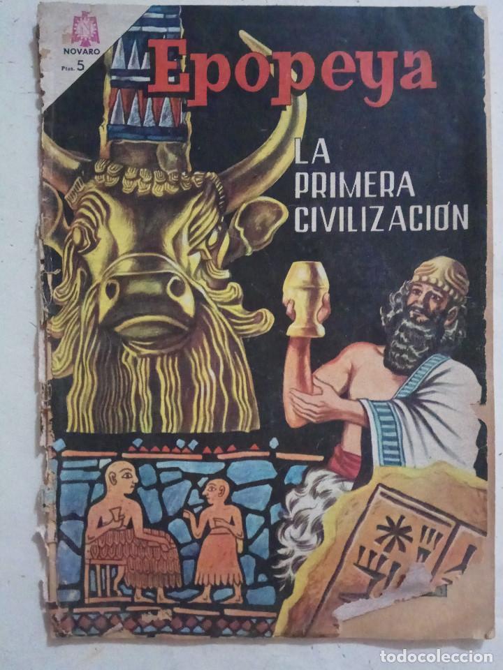 LA PRIMERA CIVILIZACION (Tebeos y Comics - Novaro - Epopeya)
