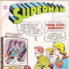 Tebeos: SUPERMAN NOVARO NÚMERO 306 AÑO 1961 JAIME OLSEN HUÉRFANO. Lote 139486186