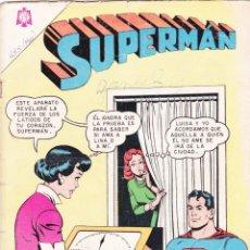 Tebeos: SUPERMAN NOVARO 455 AÑO 1964 LA ELECCIÓN DE SUPERMÁN.. Lote 139487898