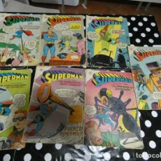 Tebeos: LOTE 7 SUPERMAN EDICIONES RECREATIVAS AÑO 1958 APROX. Lote 140237622