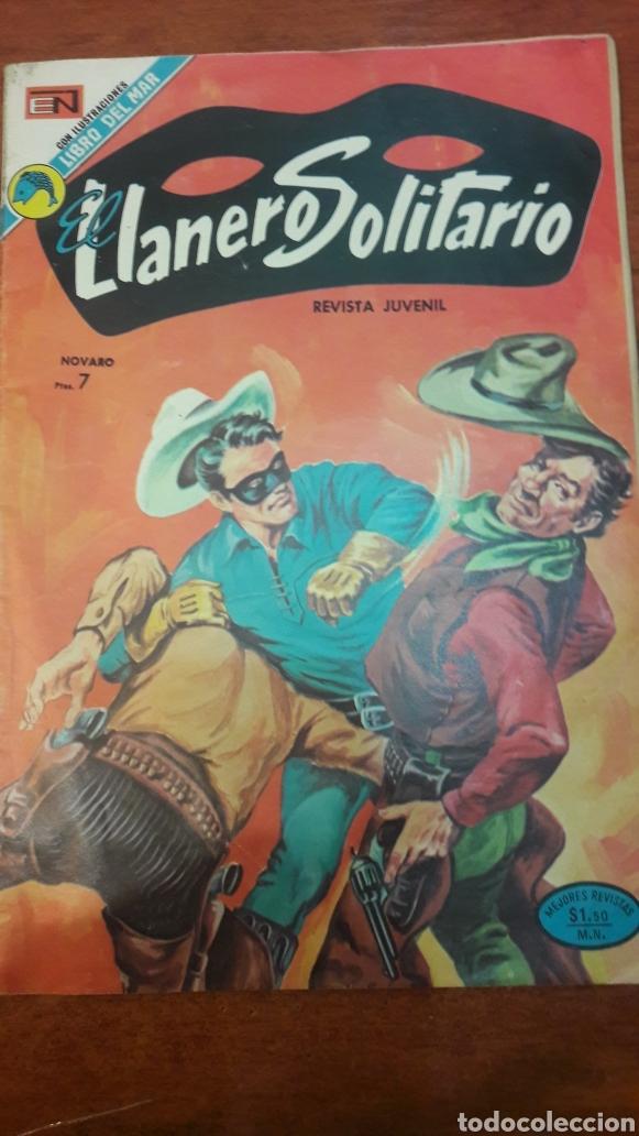 EL LLANERO SOKITARIO CON ILUSTACIONES LIBRO DEL MAR NOVARO (Tebeos y Comics - Novaro - El Llanero Solitario)