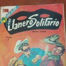 Tebeos: EL LLANERO SOKITARIO CON ILUSTACIONES LIBRO DEL MAR NOVARO. Lote 140371385