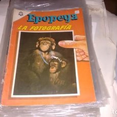 Tebeos: EPOPEYA N° 83 - LA FOTOGRAFIA - . Lote 140387202