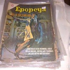 Tebeos: EPOPEYA N° 92 - EL ESCORIAL -. Lote 140388542