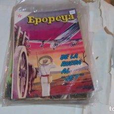 Tebeos: EPOPEYA N° 60 - DE LA RUEDA AL JET. Lote 140391622