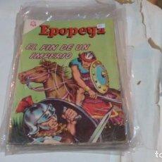 Tebeos: EPOPEYA N° 80 - EL FIN DE UN IMPERIO -. Lote 140391754