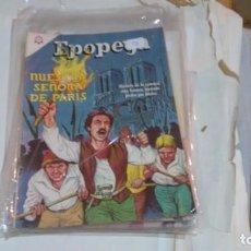 Tebeos: EPOPEYA N° 96 - NUESTRA SEÑORA DE PARIS -. Lote 140392006