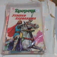 Tebeos: EPOPEYA N° 88 - FEDERICO BARBARROJA -. Lote 140392126