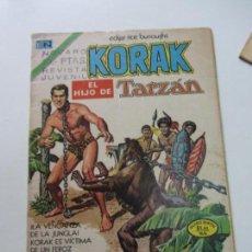 Tebeos: TEBEO, KORAK EL HIJO DE TARZAN EN LOS CAUTIVOS ENCADENADOS, Nº 20 NOVARO C12. Lote 140490438