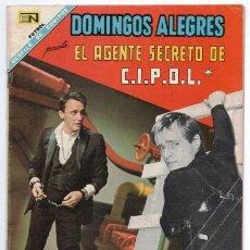 Tebeos: DOMINGOS ALEGRES # 722 NOVARO 1968 EL AGENTE SECRETO DE CIPOL ROMPECABEZAS NAPOLEON ILLYA BUEN ESTAD. Lote 140536926