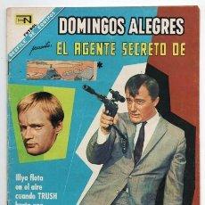 Tebeos: DOMINGOS ALEGRES # 729 NOVARO 1968 EL AGENTE SECRETO DE CIPOL LA FORMULA ´´G´´ NAPOLEON E ILLYA . Lote 140550242