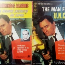 Tebeos: DOMINGOS ALEGRES # 680 NOVARO 1967 EL AGENTE SECRETO DE CIPOL & THE MAN FROM UNCLE GOLD KEY # 511 . Lote 140551086