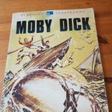Tebeos: MOBY-DICK. CLASICOS ILUSTRADOS N. 5. Lote 140578674