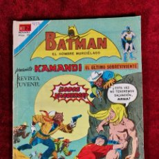 Tebeos: BATMAN SERIE AGUILA EDITORIAL NOVARO 2 - 932 AÑO 1978 - PRESENTA KAMANDI. Lote 140972094