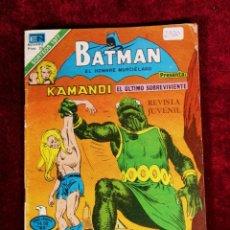 Tebeos: BATMAN SERIE AGUILA EDITORIAL NOVARO 2 - 920 AÑO 1978 - PRESENTA KAMANDI. Lote 140975982
