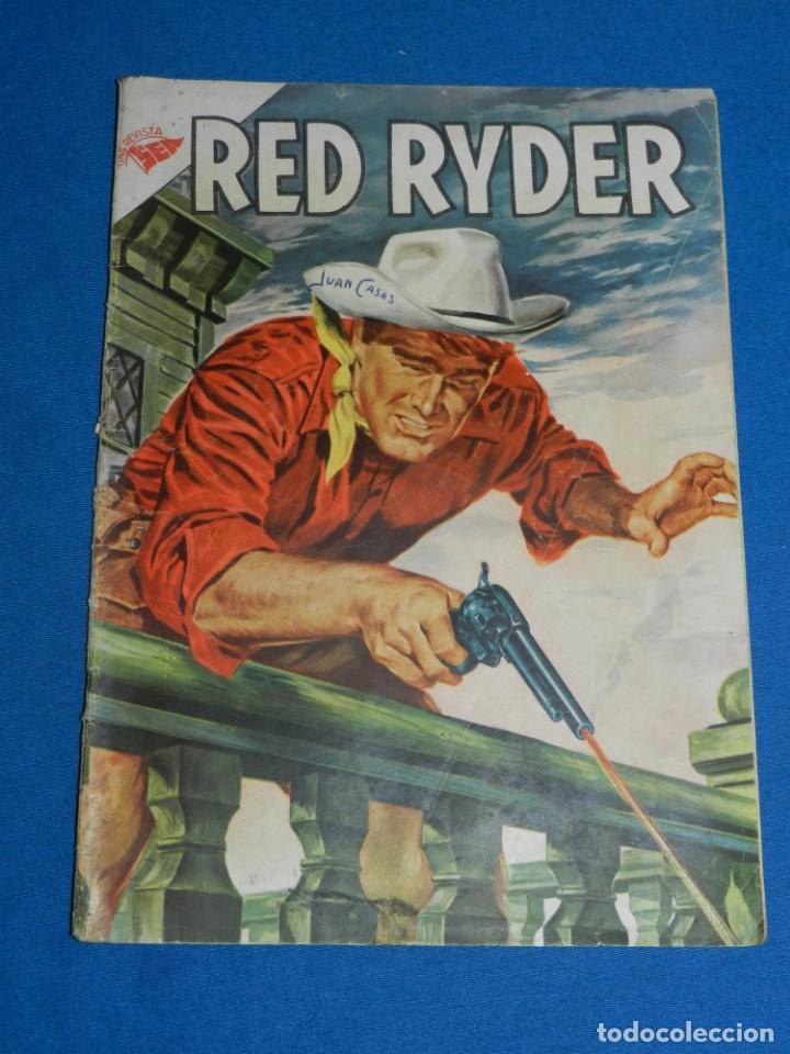 (M) RED RYDER AÑO I NUM 8 EDT NOVARO, SEÑALES DE USO (Tebeos y Comics - Novaro - Red Ryder)