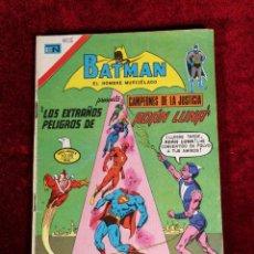 Livros de Banda Desenhada: BATMAN SERIE AGUILA EDITORIAL NOVARO 2 - 825 AÑO 1976- PRESENTA CAMPEONES DE LA JUSTICIA. Lote 141000802