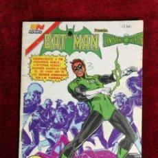 Livros de Banda Desenhada: BATMAN SERIE AGUILA EDITORIAL NOVARO 1260 AÑO 1984 - MÉXICO - LINTERNA VERDE. Lote 141163814