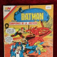 Livros de Banda Desenhada: BATMAN SERIE AGUILA EDITORIAL NOVARO 2 - 1192 AÑO 1983 - MÉXICO - CAMPEONES DE LA JUSTICIA. Lote 141172746