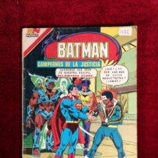 Livros de Banda Desenhada: BATMAN SERIE AGUILA EDITORIAL NOVARO 2 - 1132 AÑO 1982 - MÉXICO - CAMPEONES DE LA JUSTICIA. Lote 141183770