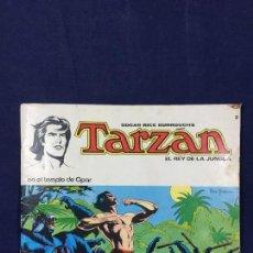 Tebeos: TARZAN EL REY DE LA JUNGLA EN EL TEMPLO DE OPAR Nº2 NOVARO 1979 EDGAR RICE BURROUGHS . Lote 141190642