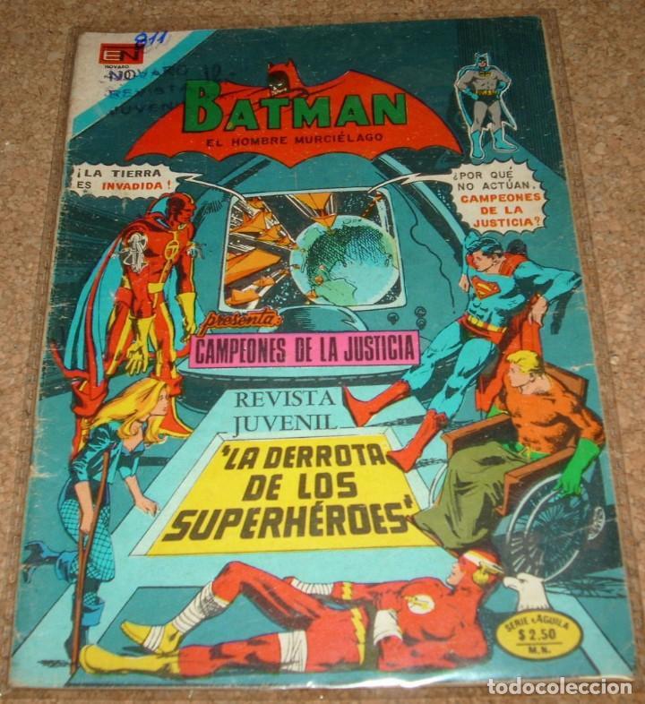 BATMAN Nº 811 - SERIE ÁGUILA - REBAJADO !! LEER (Tebeos y Comics - Novaro - Batman)