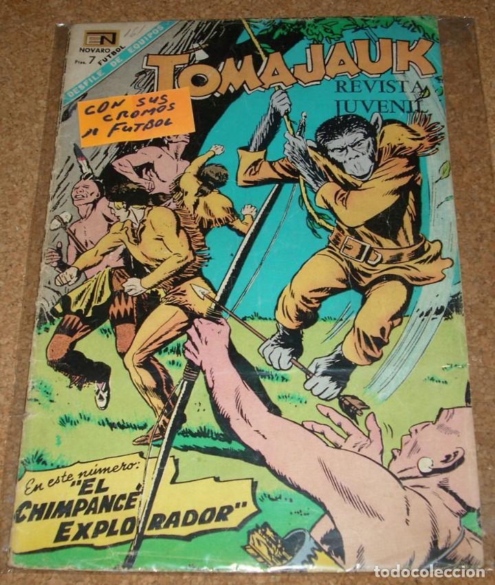 TOMAJAUK Nº 161 CON SUS CROMOS DE FUTBOL - NOVARO 1969- LEER (Tebeos y Comics - Novaro - Otros)
