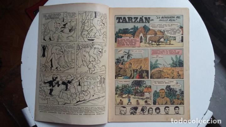Tebeos: Tarzán n° 75 (excelente) - Foto Gordon Scott - original editorial Novaro - Foto 2 - 141453426