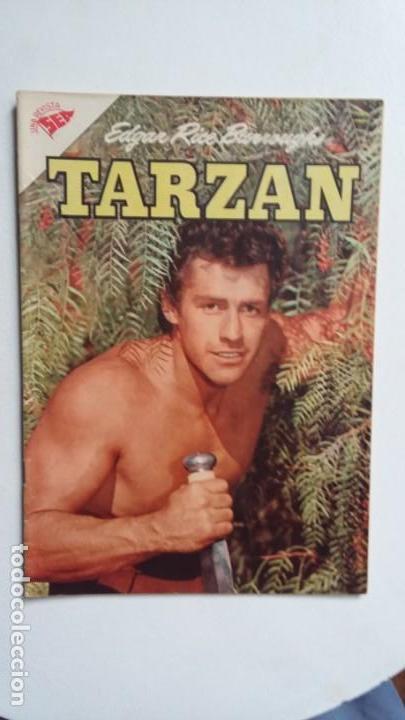 TARZÁN N° 64 - FOTO GORDON SCOTT - ORIGINAL EDITORIAL NOVARO (Tebeos y Comics - Novaro - Tarzán)