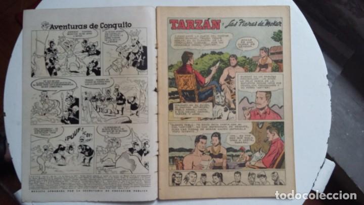 Tebeos: Tarzán n° 63 - Foto Gordon Scott - original editorial Novaro - sin gastos de envio - Foto 2 - 141525158