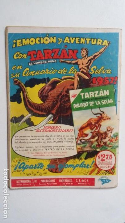 Tebeos: Tarzán n° 63 - Foto Gordon Scott - original editorial Novaro - sin gastos de envio - Foto 4 - 141525158