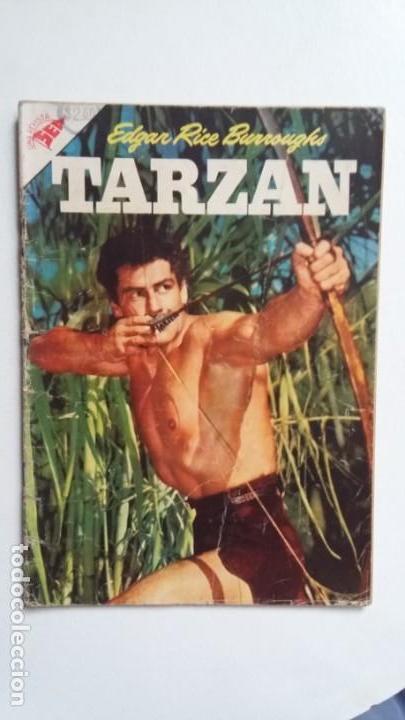 TARZÁN N° 63 - FOTO GORDON SCOTT - ORIGINAL EDITORIAL NOVARO - SIN GASTOS DE ENVIO (Tebeos y Comics - Novaro - Tarzán)