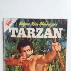 Tebeos: TARZÁN N° 63 - FOTO GORDON SCOTT - ORIGINAL EDITORIAL NOVARO - SIN GASTOS DE ENVIO. Lote 141525158