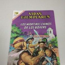 Tebeos: 1118- VIDAS EJEMPLARES LOS MARTIRES CHINOS DE LOS BOXERS Nº 243 / ABRIL 1967 . Lote 142151806