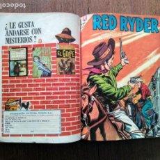 Tebeos: TOMO RED RYDER REX ALLEN AVENTURA EPOPEYA Y OTROS NOVARO. Lote 142509754
