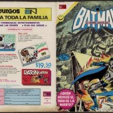 Tebeos: BATMAN 648 - BATGIRL - NOVICK & GIORDANO & HECK - NOVARO 1972. Lote 142832738