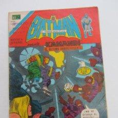 Tebeos: BATMAN SERIE AGUILA EDITORIAL NOVARO 2 - 808 AÑO 1975 - PRESENTA KAMANDI CS161. Lote 142978894