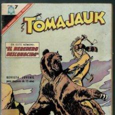 Tebeos: TOMAJAUK - EL HEROE DESCONOCIDO - Nº 136 - EDITORIAL NOVARO 1966. Lote 143036542