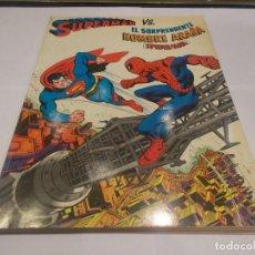 Tebeos: SUPERMAN VS. EL SORPRENDENTE HOMBRE ARAÑA ( SPIDERMAN ) / NOVARO 1979 (SR). Lote 143530406