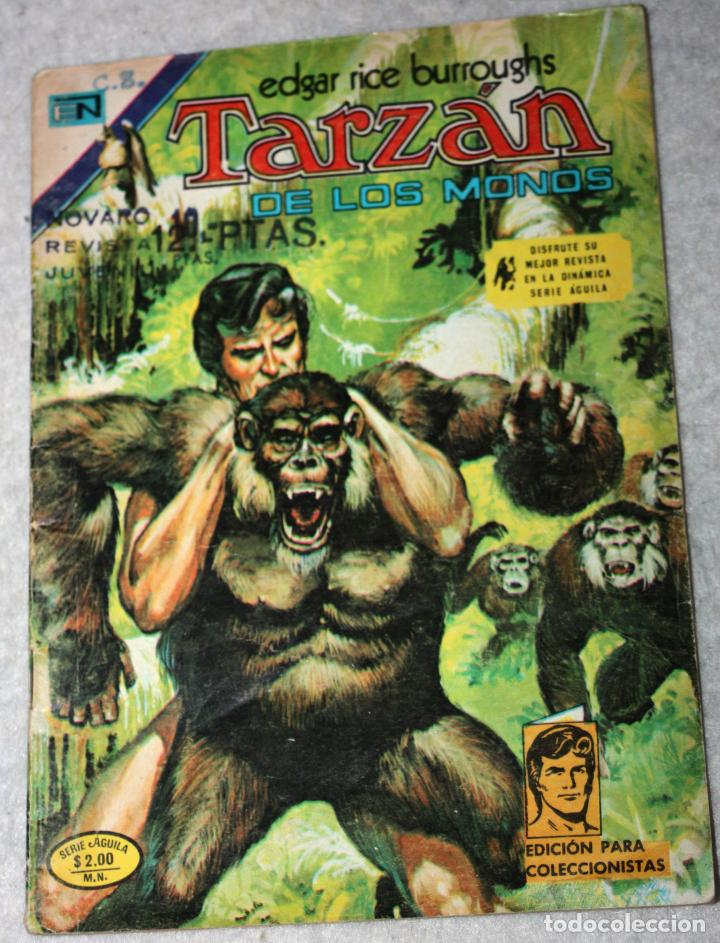 TARZAN (EDGAR RICE BURROUGHS) N°437 (Tebeos y Comics - Novaro - Tarzán)