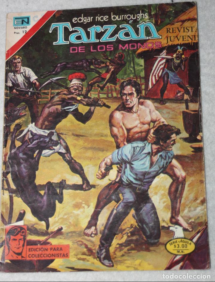 TARZAN (EDGAR RICE BURROUGHS) N°492 (Tebeos y Comics - Novaro - Tarzán)