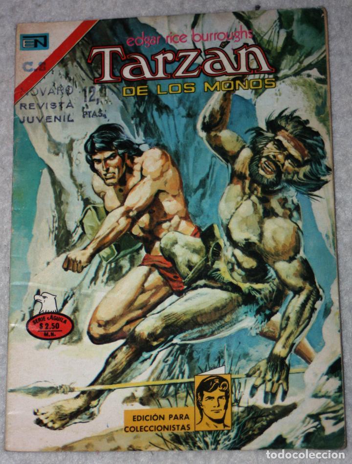 TARZAN (EDGAR RICE BURROUGHS) N°473 (Tebeos y Comics - Novaro - Tarzán)