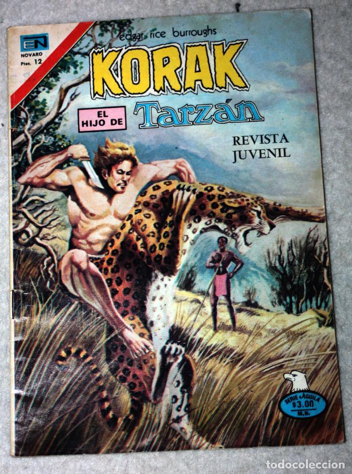 KORAK, EL HIJO DE TARZAN (EDGAR RICE BURROUGHS) N°2-53 (Tebeos y Comics - Novaro - Tarzán)