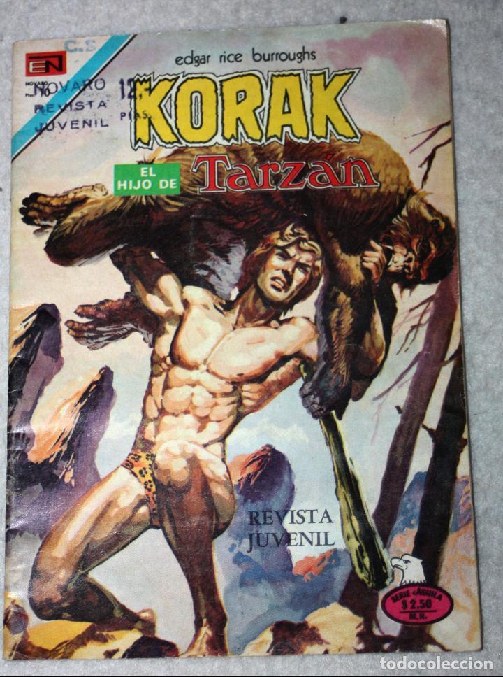 KORAK, EL HIJO DE TARZAN (EDGAR RICE BURROUGHS) N°45 (Tebeos y Comics - Novaro - Tarzán)