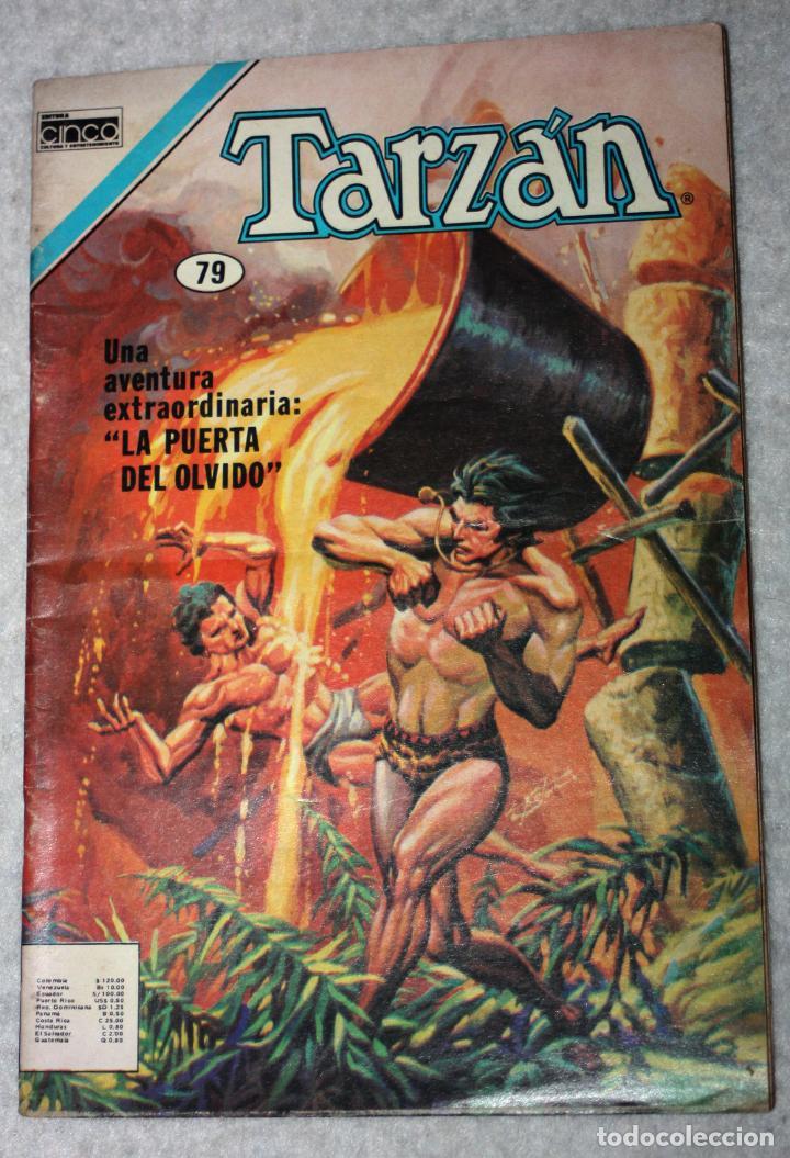 TARZAN (EDGAR RICE BURROUGHS) N°79 (EDICIÓN DE CINCO-COLOMBIA) (Tebeos y Comics - Novaro - Tarzán)