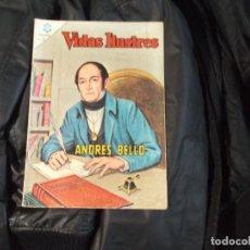 Tebeos: NOVARO VIDAS ILUSTRES.Nº118-ANDRES BELLO. Lote 143782574