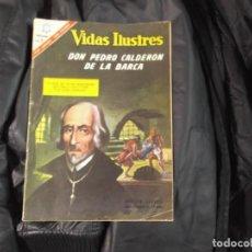 Tebeos: NOVARO VIDAS ILUSTRES.Nº 149-PEDRO CALDERON DE LA BARCA. Lote 143782886