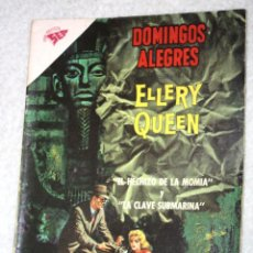 Tebeos: DOMINGOS ALEGRES -ELLERY QUEEN - NÚMERO 428 (1962).MUY DIFICIL. Lote 143808802