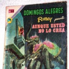 Tebeos: DOMINGOS ALEGRES -RIPLEY PRESENTA AUNQUE USTED NO LO CREA - NÚMERO 970 (1972). DIFICIL. Lote 143809234