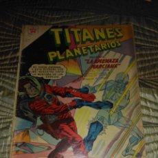 Tebeos: TITANES PLANETARIOS Nº 86. Lote 143908322
